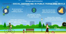 DNR Covid-19 Social Distancing in Public Parks