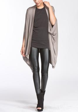 Oxford Drape Cardigan