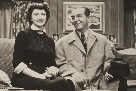 Peg Lynch and Alan Bunce, Ethel and Albert