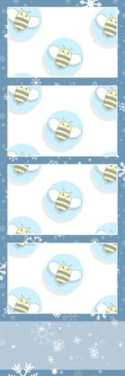 Bumblebee Booths Photo Strip sample #43