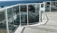 glass panels and railings