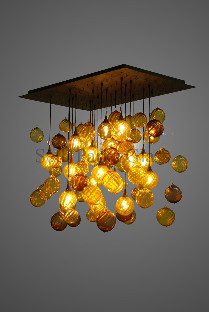 Hand blown glass chandeliers hand blown glass chandeliers view on mobile aloadofball Images
