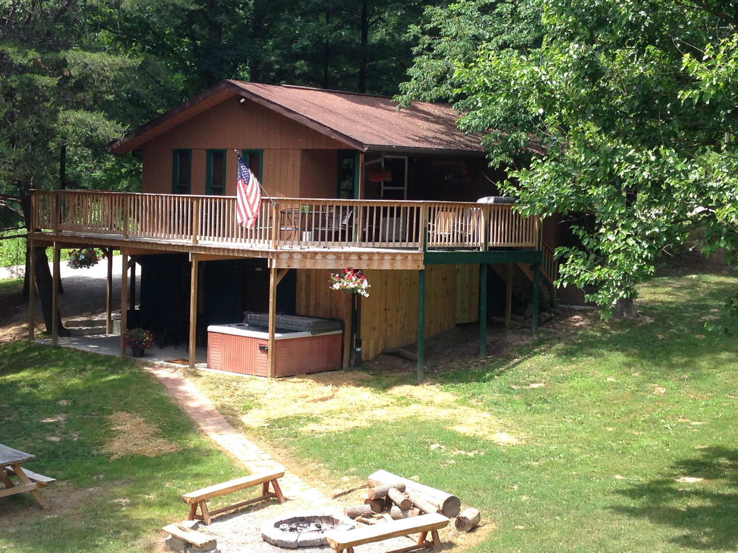 bg gatlinburg cabin chattanooga rentals pigeon tn in forge acorn cabins smoky mountain