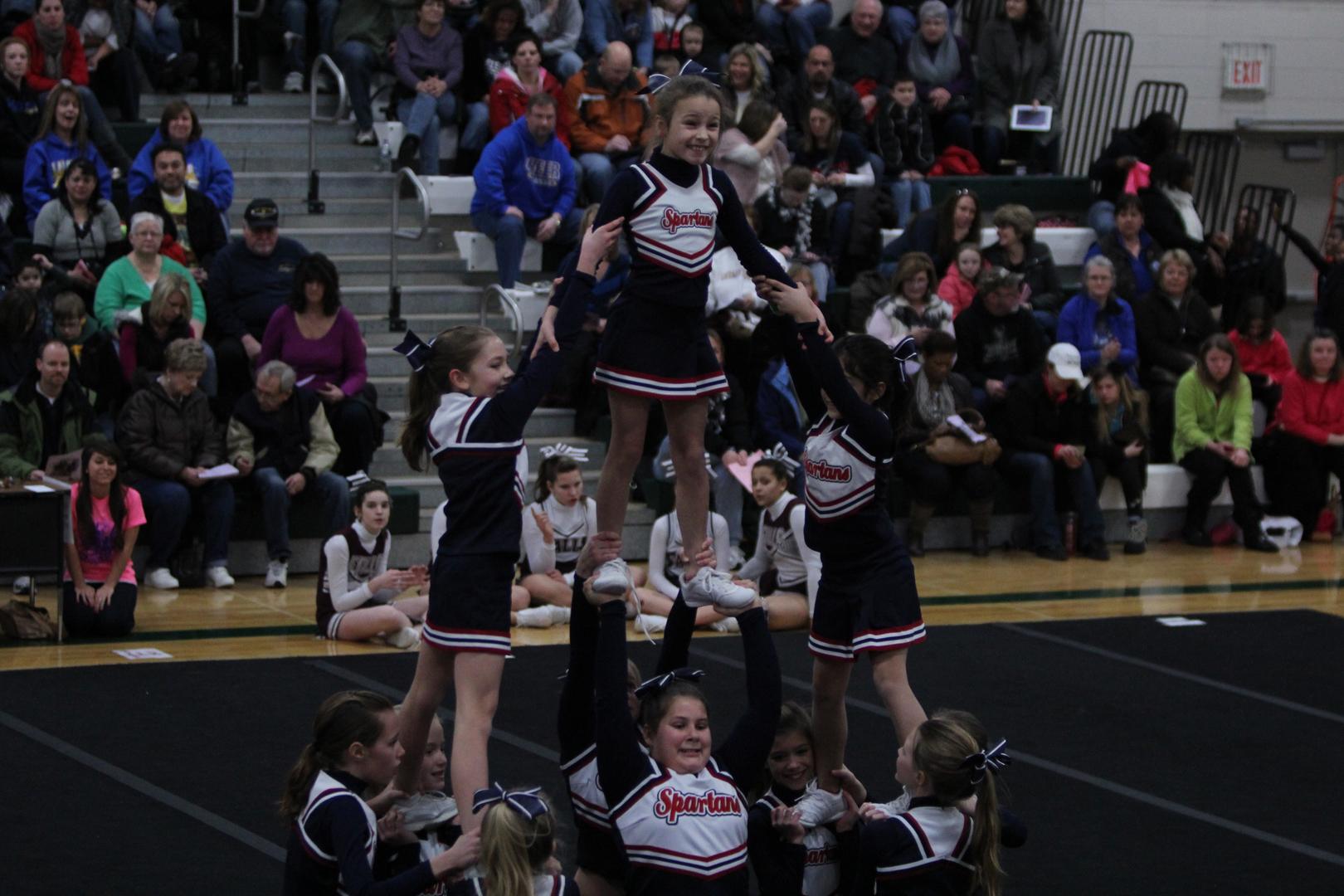 junior gladiators cheerleading