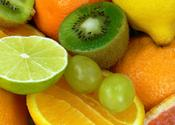 Citrus, Grapes, and kiwi fruit
