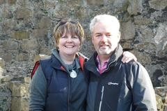 The owners of the 5* bed and breakfast on the Causeway Coastal Route - Water's Edge Glenarm B&B