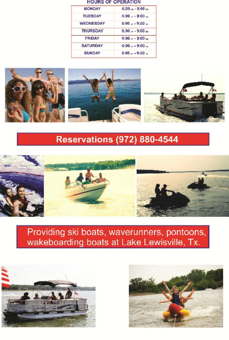 Boat rentals lake lewisville, fun lake party cove