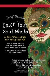 Grief Diaries Coloring book