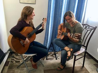 intensive, one-on-one flamenco guitar lessons in Seville