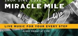 Miami Events; Coral Gables Events; Miracle Mile; Live Music; Family Events; Family Entertianment.