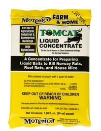 Tomcat Liquid Concentrate Rodent Killer 8 packs