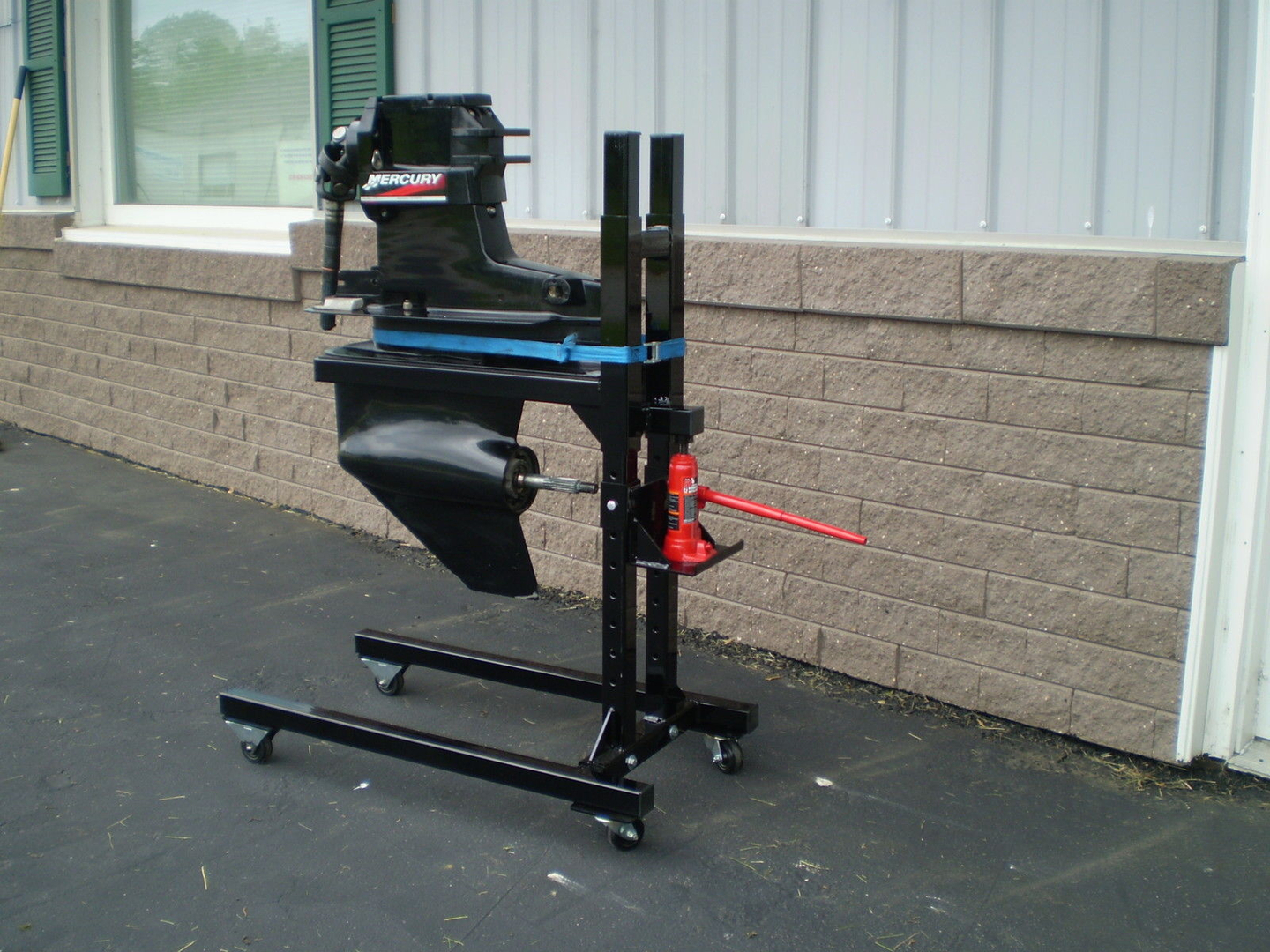 Outdrive Jack Stand with Extensions