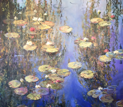 Waterlillies in Bloom, Jerry Georgeff