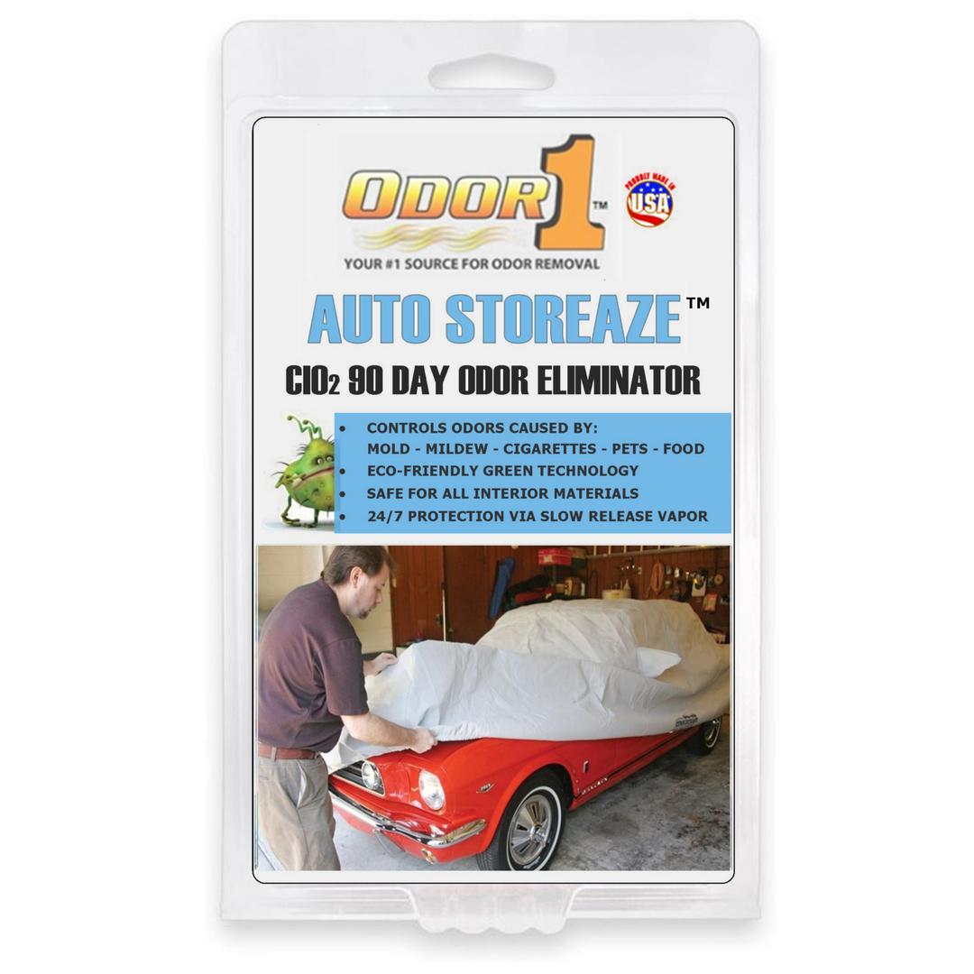 Car interior odor eliminator - Odor1 Is Efficient Effective