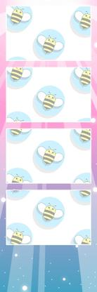 Bumblebee Booths Photo Strip sample #24