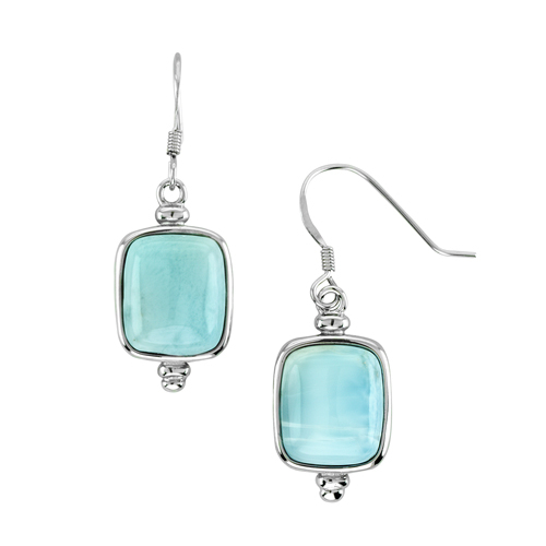 and creations galleries earrings blue white light drop pearl cloud larimar
