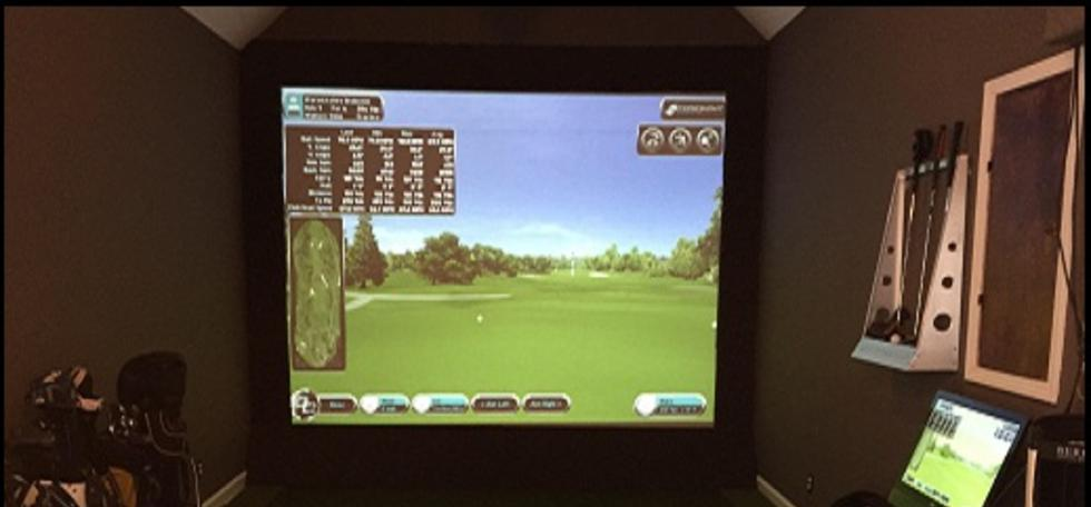 golf impact screen, golf screen, golf simulator screen, golf practice screen, golf projection screen