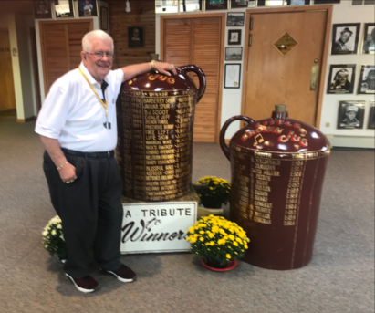 Roger Huston: 51 years of the Jug and counting.