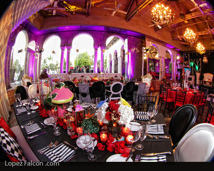 5111e809761 Quince Party The Coral Gables Country Club Alice in Wonderland Quinceanera  Theme Party Quinces in Miami ...