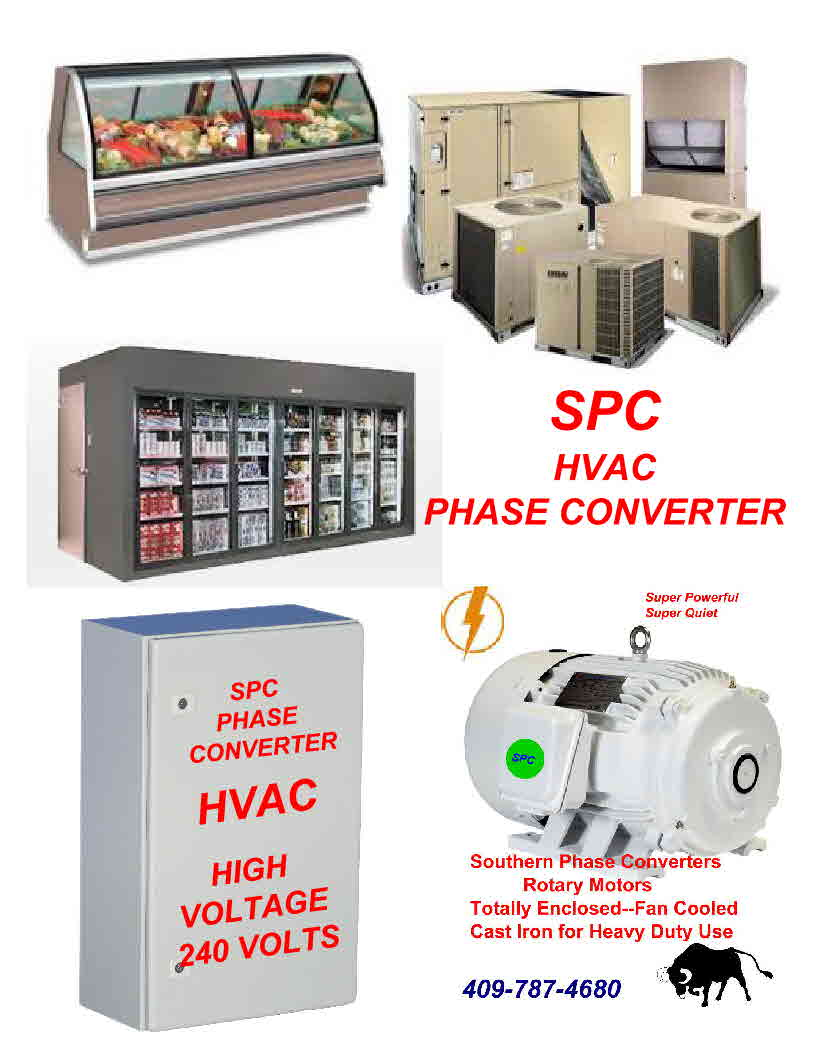 Southern Phase Converters Rotary Cnc American Wiring Diagram For Woodworking Machine Shop Equipment Edm Industrial Rated