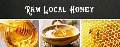 Raw Local Honey link to Home Goods page