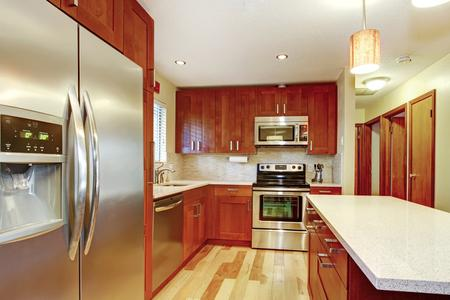 hardwood flooing kitchen custom wood cabinets new countertops contractor in Parker Colorado