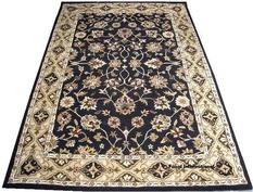 Persian hand-tufted carpet