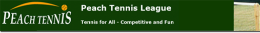 Peach Tennis League