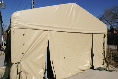 Chism Company Rapid Depolyment Tents