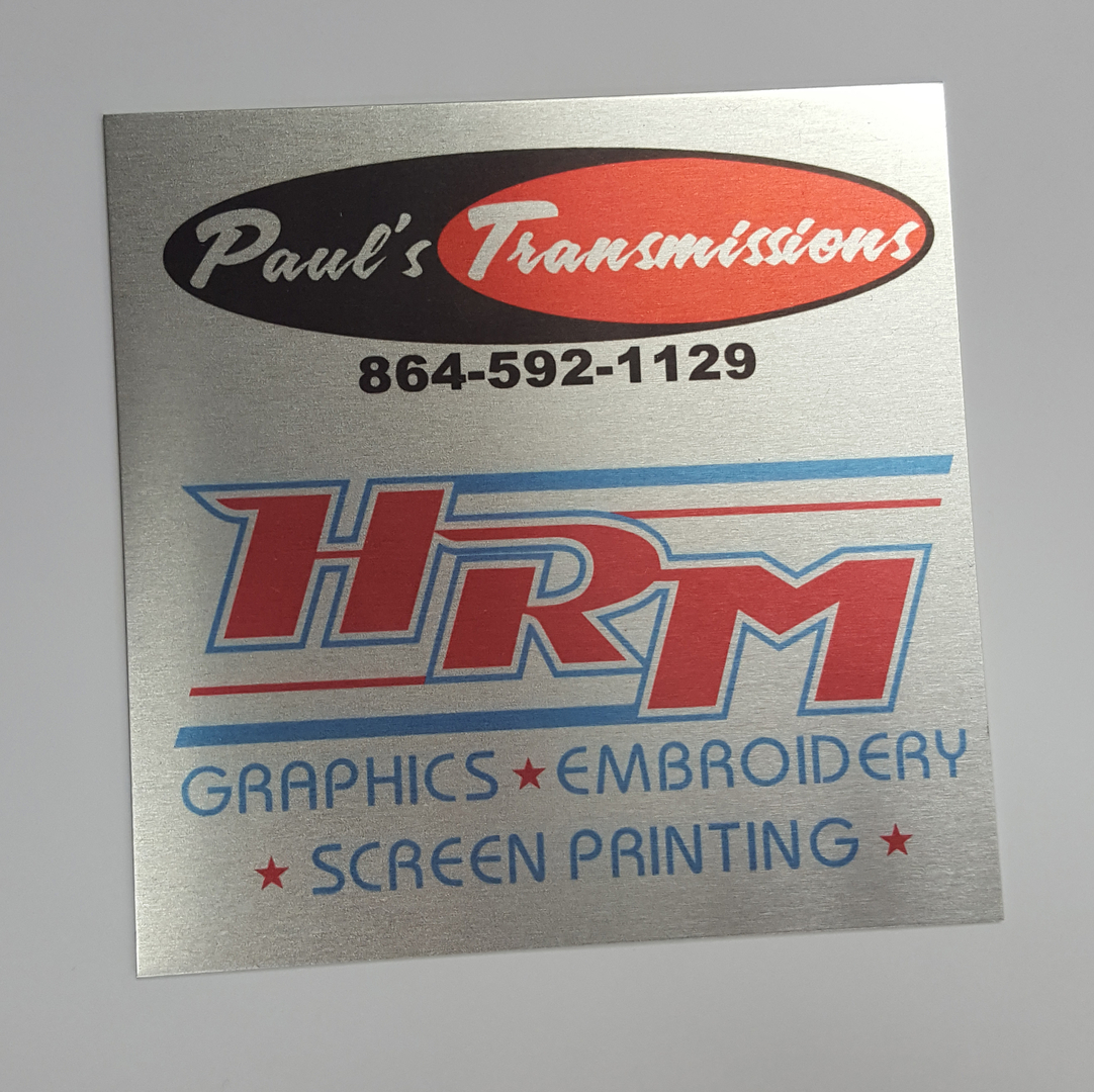 Dye Sublimation & Promotional Products