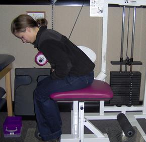 AGLA Chiropractic ProMaxima™ back weights machine