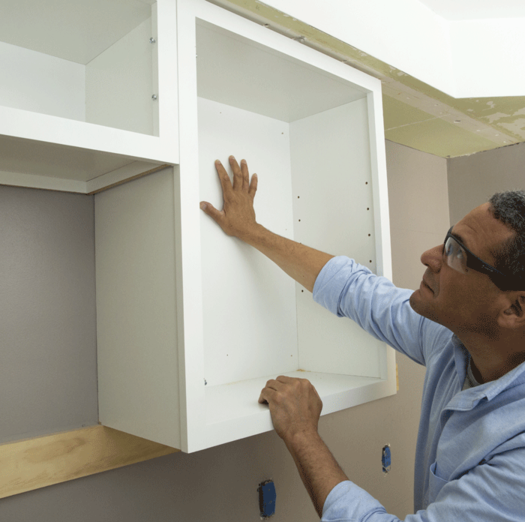Top Wall Cabinet Installation Services Wall Cabinet Installer and cost in Edinburg McAllen TX | Handyman Services of McAllen