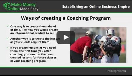 This video you'll learn about launching your coaching program.