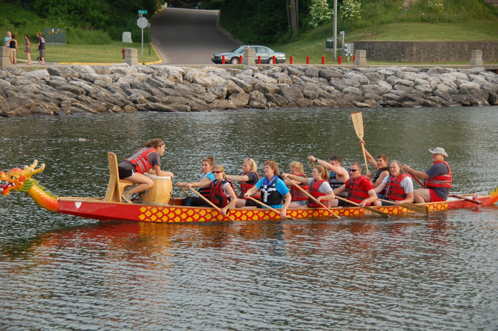 Harborfest Dragonboat race
