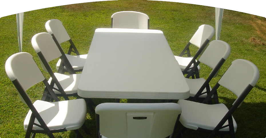 Chair And Table Party Rentals, Party Tent Rentals - Mendoza Party ...