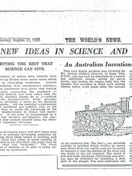 New Ideas In Science and Invention