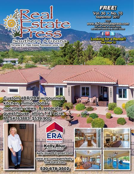 Real Estate Press, Southern Arizona, Vol. 30, No. 10, September 2017