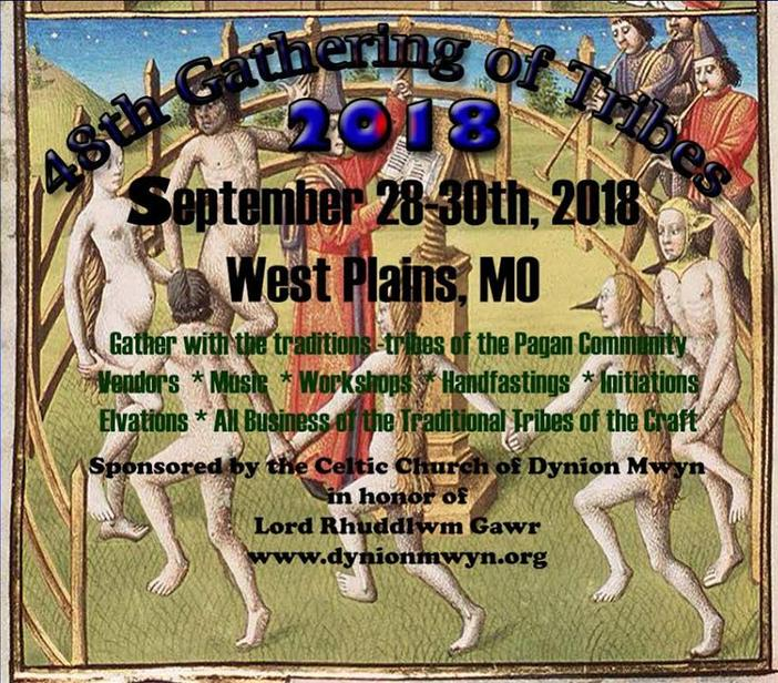 48th Gathering of the Tribes; September 28-30, 2018 in West Plains, Missouri