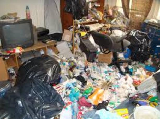 how to clean your hoarder house