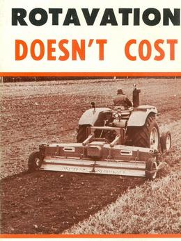 Rotavation Doesnt Cost, It Pays Brochure