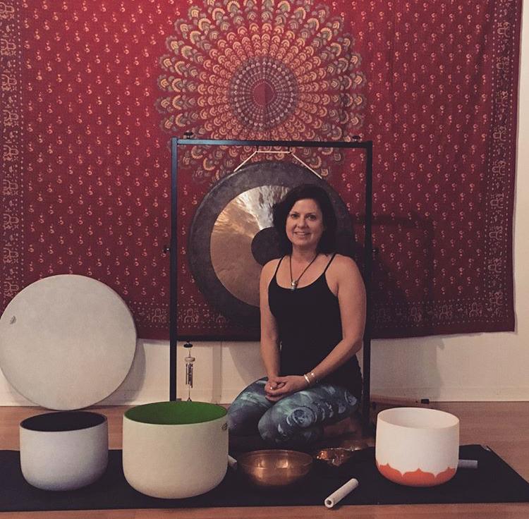 Tana with Sound Bowls