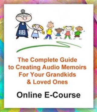 how to record audio memoirs e-course