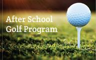 After School Junior Golf Program