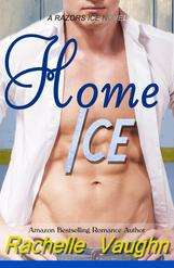 Home Ice by Rachelle Vaughn sports romance book