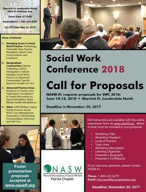 Call for Proposals Flyer and Information