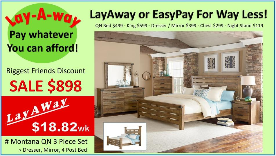 Bedroom Furniture for Way Less
