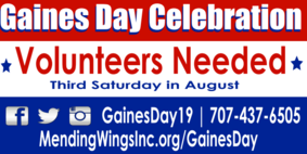 Gaines Day Volunteer Program