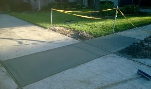 Best Pouring Concrete Sidewalk Service and Cost in Lancaster County Nebraska | Lincoln Handyman Services
