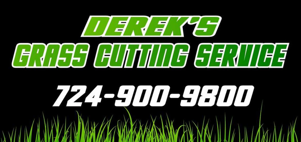 Dereks Grass Cutting Service Logo