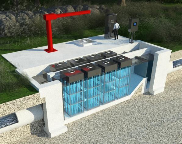 Wastewater Vertical Uv